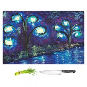 Artistic Kitchen Bar Cutting Boards | Jessilyn Park - Twilight of Love