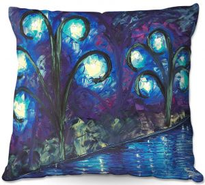 Unique Throw Pillows from DiaNoche Designs by Jessilyn Park - Twilight of Love