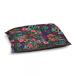 Decorative Dog Pet Beds | Jill O Connor - English Cottage Garden | Floral, Flowers