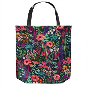Unique Shoulder Bag Tote Bags | Jill O Connor - English Cottage Garden | Floral, Flowers