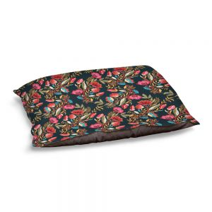 Decorative Dog Pet Beds | Jill O Connor - Indian Nights | Floral, Flowers