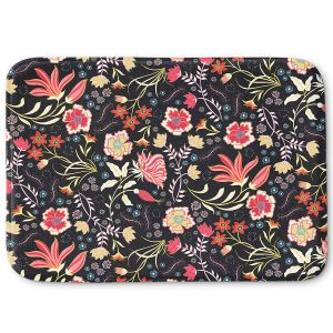 Decorative Bathroom Mats | Jill O Connor - Indian Summer | Floral, Flowers