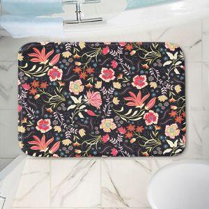 Decorative Bathroom Mats | Jill O Connor - Indian Summer | Floral, Flowers