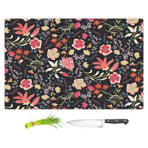 Artistic Kitchen Bar Cutting Boards | Jill O Connor - Indian Summer | Floral, Flowers