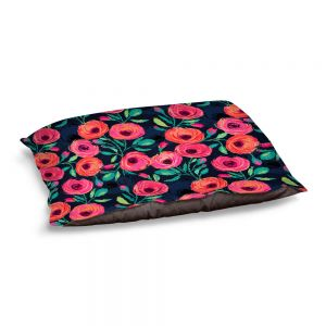 Decorative Dog Pet Beds | Jill O Connor - Rose Garden | Floral, Flowers