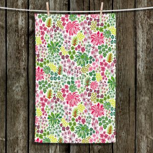 Unique Bathroom Towels | Jill O Connor - Tropical Botanical | Floral, Flowers
