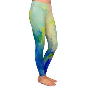 Casual Comfortable Leggings   John Nolan - Abstract 1   Color pattern shapes