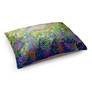 Decorative Dog Pet Beds | John Nolan - Abstract 2 | Nature color pattern shapes