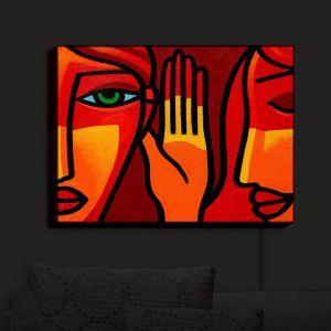 Nightlight Sconce Canvas Light | John Nolan - Hear Me Now | people portrait surreal abstract