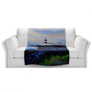 Artistic Sherpa Pile Blankets | John Nolan - Hook Lighthouse l