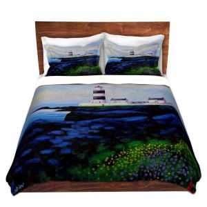 Artistic Duvet Covers and Shams Bedding | John Nolan - Hook Lighthouse l