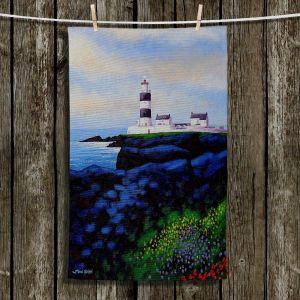 Unique Hanging Tea Towels | John Nolan - Hook Lighthouse l | Seascapes Beach Waterfront