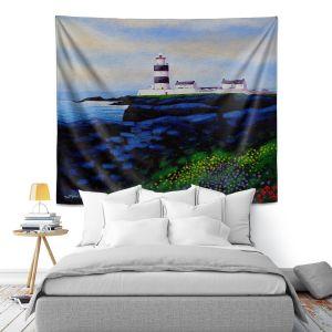 Artistic Wall Tapestry   John Nolan - Hook Lighthouse l