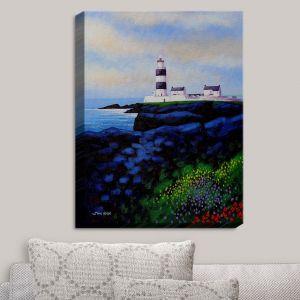 Decorative Canvas Wall Art | John Nolan - Hook Lighthouse I | Seascapes Beach Waterfront
