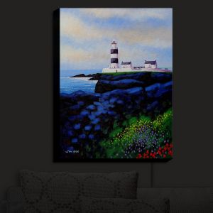 Nightlight Sconce Canvas Light | John Nolan - Hook Lighthouse I | Seascapes Beach Waterfront