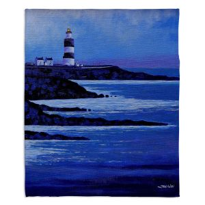 Decorative Fleece Throw Blankets | John Nolan - Hook Lighthouse ll