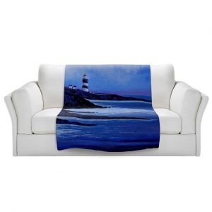 Artistic Sherpa Pile Blankets | John Nolan - Hook Lighthouse ll