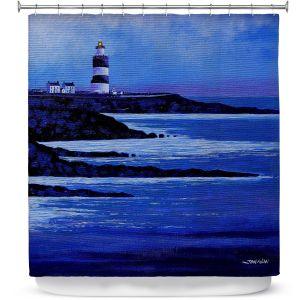 Premium Shower Curtains | John Nolan - Hook Lighthouse ll
