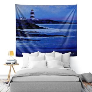 Artistic Wall Tapestry   John Nolan - Hook Lighthouse ll