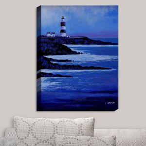 Decorative Canvas Wall Art | John Nolan - Hook Lighthouse II | Seascapes Beach Waterfront