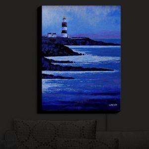 Nightlight Sconce Canvas Light | John Nolan - Hook Lighthouse II | Seascapes Beach Waterfront
