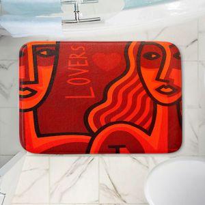 Decorative Bathroom Mats | John Nolan - Lovers