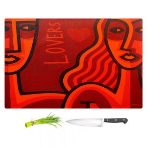 Artistic Kitchen Bar Cutting Boards | John Nolan - Lovers
