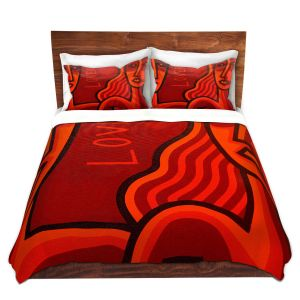 Artistic Duvet Covers and Shams Bedding | John Nolan - Lovers