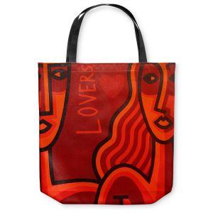 Unique Shoulder Bag Tote Bags | John Nolan - Lovers