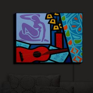Nightlight Sconce Canvas Light | John Nolan - Matisse | inspiration abstract surreal portrait
