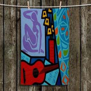Unique Hanging Tea Towels | John Nolan - Matisse | inspiration abstract surreal portrait