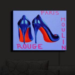 Nightlight Sconce Canvas Light   John Nolan - Paris Burlesque Shoe