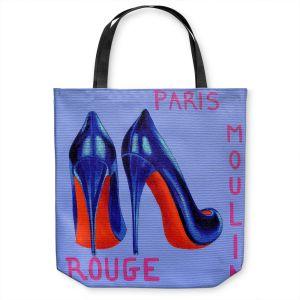 Unique Shoulder Bag Tote Bags   John Nolan - Paris Burlesque Shoe   Stamp heel still life close up France