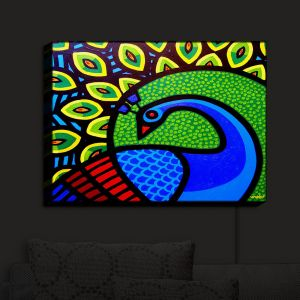 Nightlight Sconce Canvas Light | John Nolan's Peacock