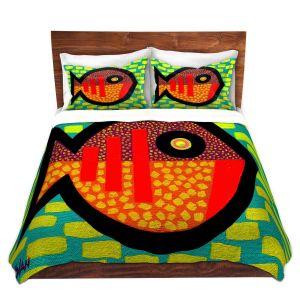 Artistic Duvet Covers and Shams Bedding | John Nolan - Pisces