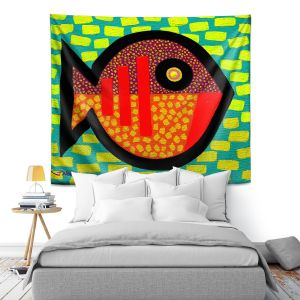 Artistic Wall Tapestry | John Nolan - Pices