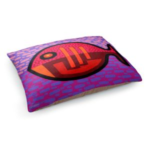 Decorative Dog Pet Beds | John Nolan - Pisces 2 | fish nature side view