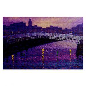 Decorative Floor Coverings | John Nolan Purple Mist Ha Penny Bridge