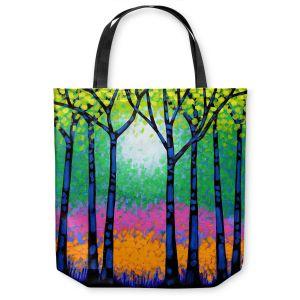 Unique Shoulder Bag Tote Bags   John Nolan - Seven Trees