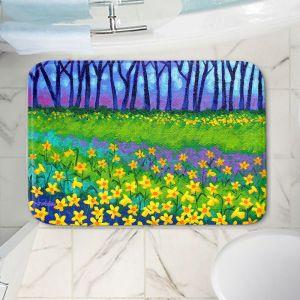 Decorative Bathroom Mats | John Nolan - Spring Daffs II