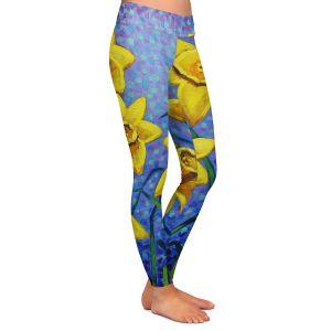 Casual Comfortable Leggings | John Nolan Spring Daffs III