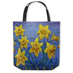 Unique Shoulder Bag Tote Bags   John Nolan Spring Daffs III