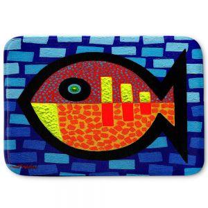 Decorative Bathroom Mats | John Nolan - Sunday Fish