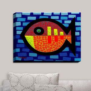 Decorative Canvas Wall Art | John Nolan - Sunday Fish | Weekend Fish
