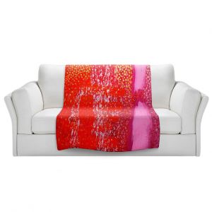 Unique Sherpa Blankets from DiaNoche Designs by John Nolan - Transcendental Abstract