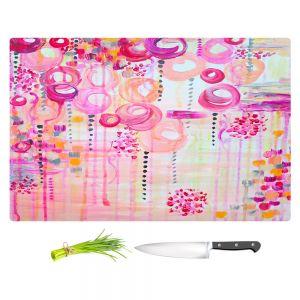 Artistic Kitchen Bar Cutting Boards | Julia Di Sano - Atomic Pink Dreams