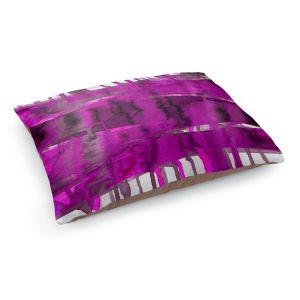 Decorative Dog Pet Beds | Julia Di Sano - Balancing Act Fucshia | Abstract