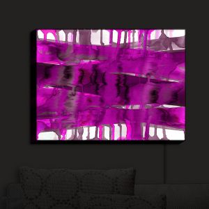 Nightlight Sconce Canvas Light | Julia Di Sano - Balancing Act Fucshia