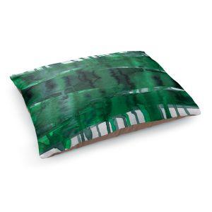 Decorative Dog Pet Beds | Julia Di Sano - Balancing Act Green | Abstract