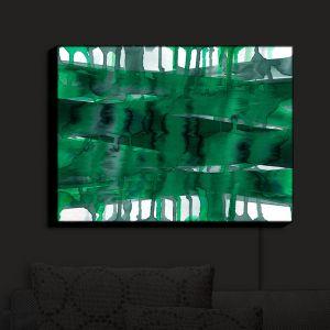 Nightlight Sconce Canvas Light | Julia Di Sano - Balancing Act Green